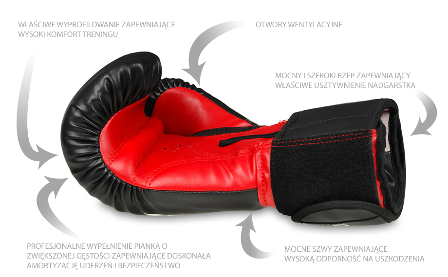 rękawice bokserskie treningowe
