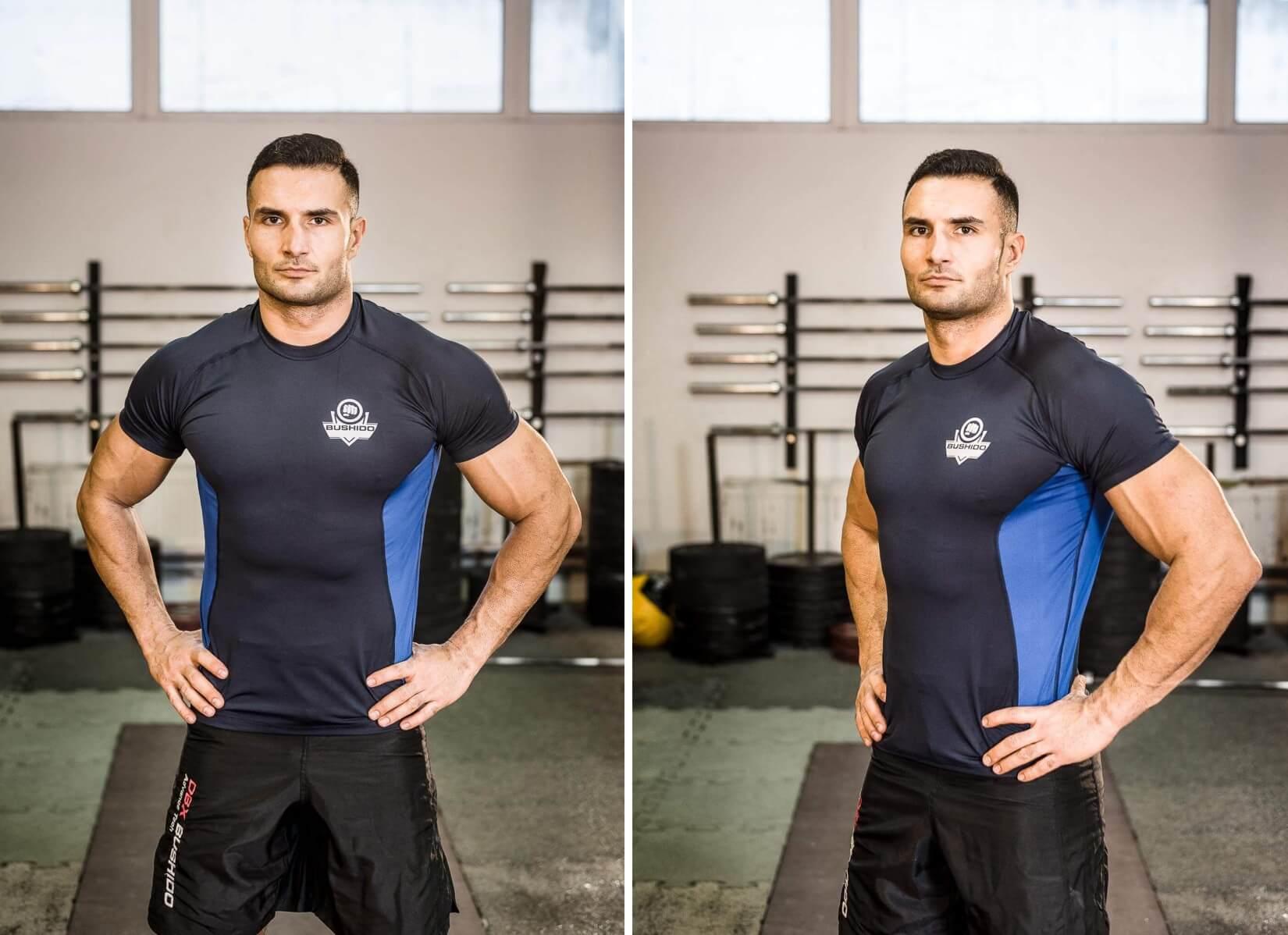 koszulka treningowa wyszczuplająca