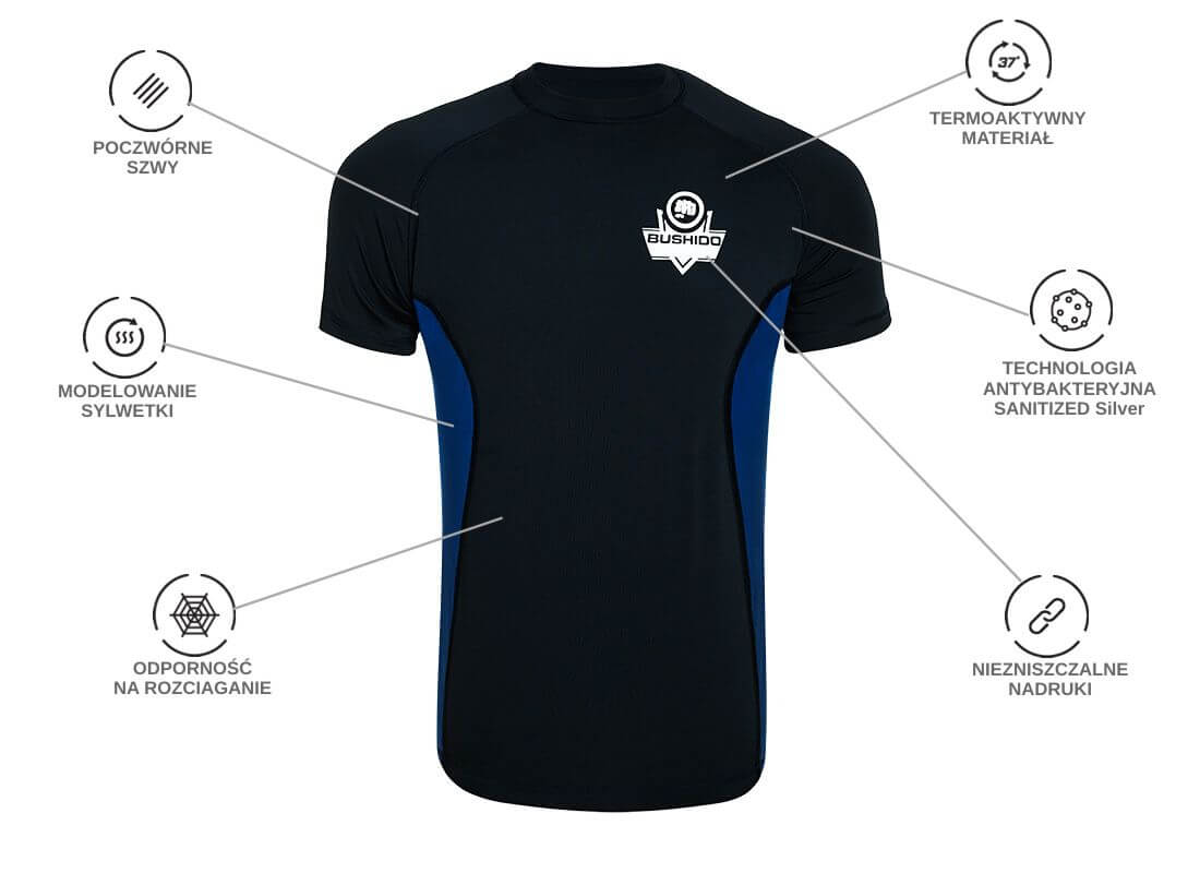koszulka termoaktywna do treningu