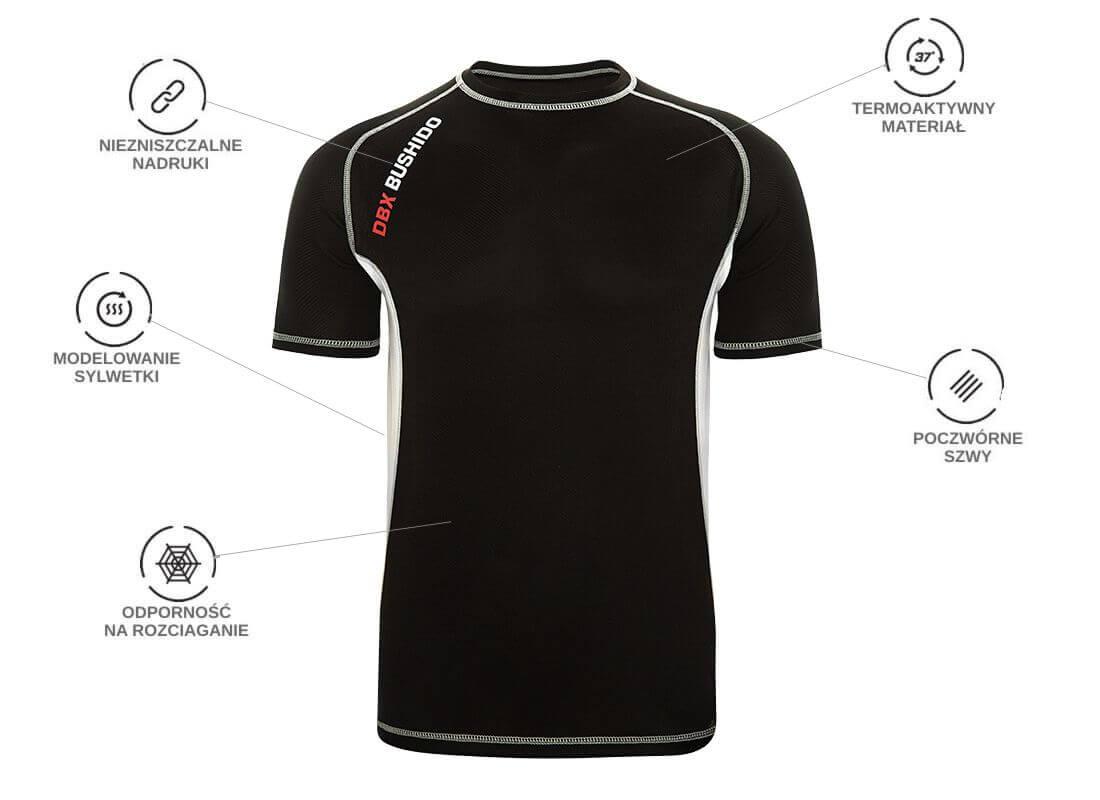 koszulka treningowa - technologie