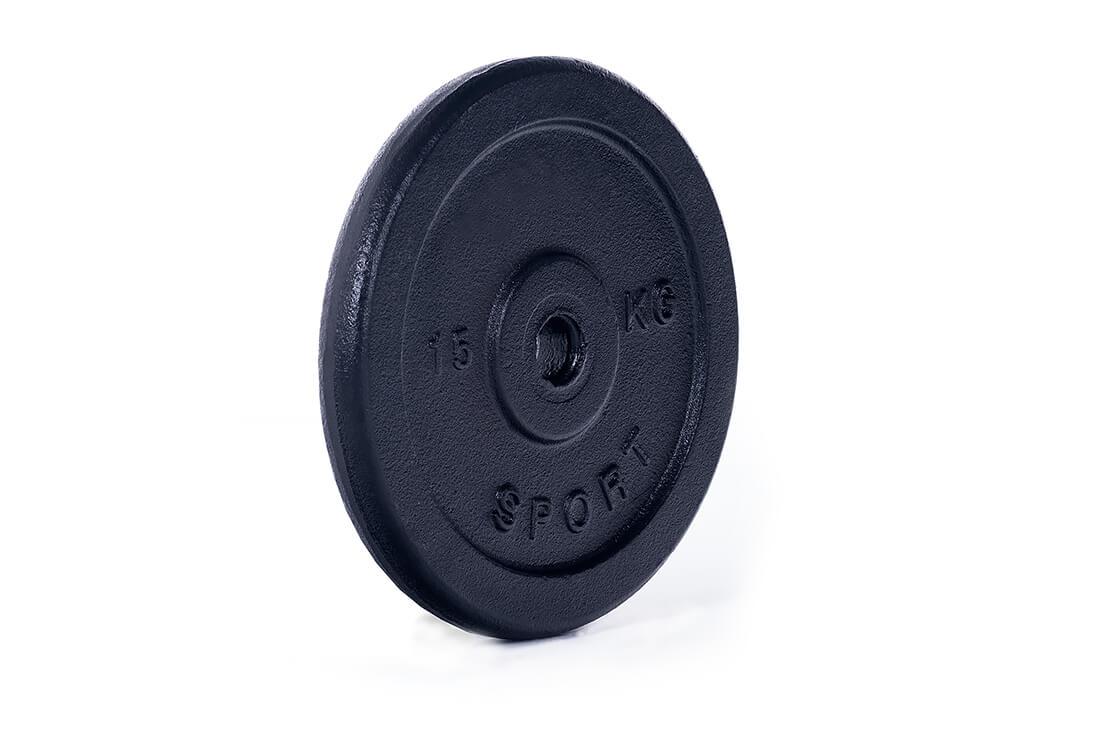obciążenie żeliwne talerz 15 kg