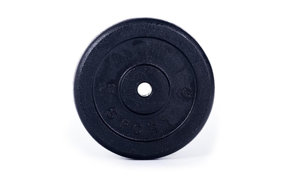 obciążenie żeliwne talerz 20 kg