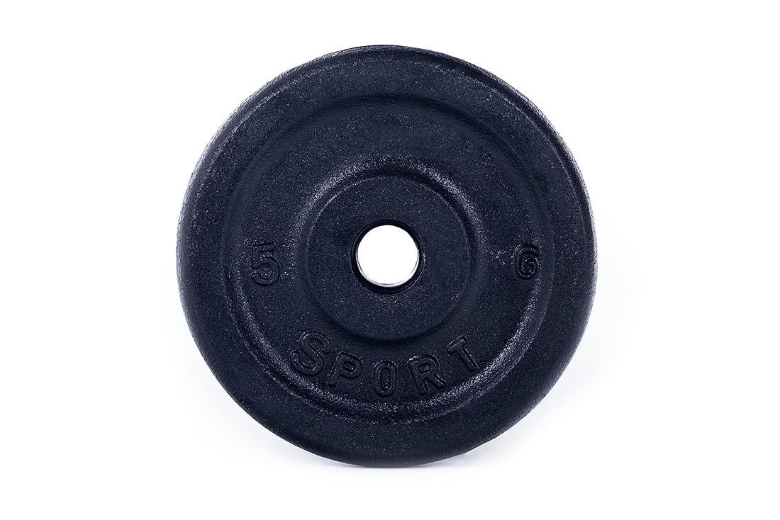 obciążenie żeliwne talerz 5 kg